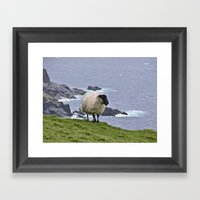 The Ram Framed Art Print