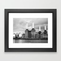 Battersea Power Station II Framed Art Print