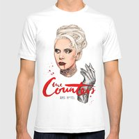 The Countess, Elizabeth Mens Fitted Tee White SMALL