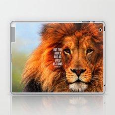 BOLD AS LIONS Laptop & iPad Skin
