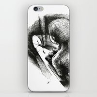 God Always Look At You F… iPhone & iPod Skin