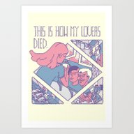 This Is How My Lovers Di… Art Print