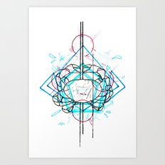 I See Them And Say Nothing Art Print