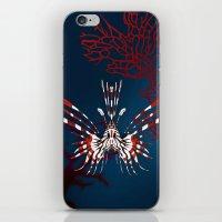 NOCTURNAL CREATURE iPhone & iPod Skin