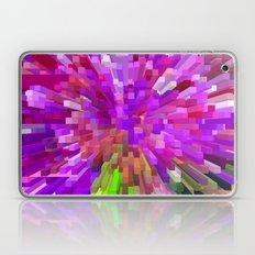 Violet Burst Laptop & iPad Skin