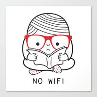 No Wifi Canvas Print