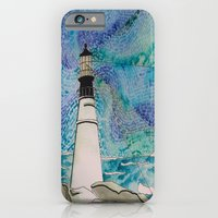 iPhone & iPod Case featuring The Moody Blue Light by Emily Storvold