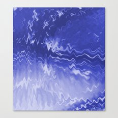 Blue Swift Canvas Print