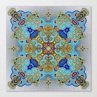 Mix&Match Byzantine Mosa… Canvas Print
