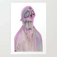 The SlimeMan Art Print