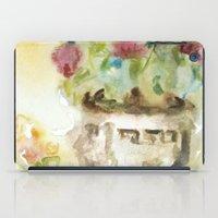 Flowers In the Garden iPad Case