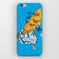 Bad Day At The Office iPhone & iPod Skin
