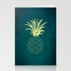 Y-hello Pineapple Stationery Cards