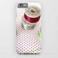 iPhone & iPod Case featuring Silk Thread Spools by Christine Haynes