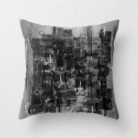 :: Night Sounds :: Throw Pillow