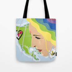 your mama loves you, no matter where you are Tote Bag