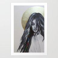 Bohemian Angel Art Print