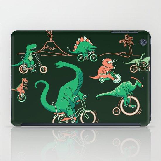 Dinosaurs on Bikes! iPad Case