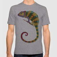 Papeleon Mens Fitted Tee Athletic Grey SMALL