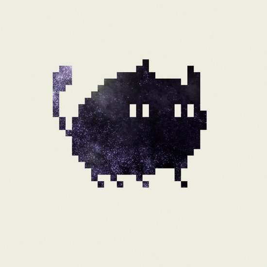 CAT MAMING Art Print