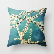 Waiting for Spring to Bloom Throw Pillow