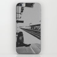 iPhone & iPod Skin featuring Waiting by Jane Lacey Smith