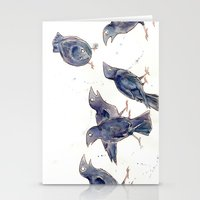Gossip of the Crows Stationery Cards