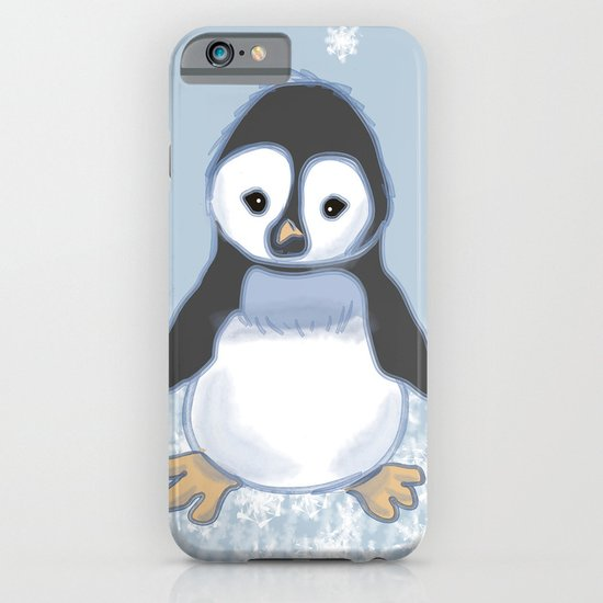 Frosty pinguin iPhone & iPod Case