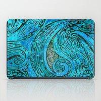 Chanting Blue Loon iPad Case