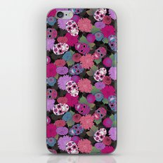dia de los muertes iPhone & iPod Skin