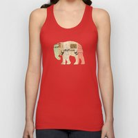 Elephant Unisex Tank Top