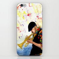 The Colors of Jazz iPhone & iPod Skin