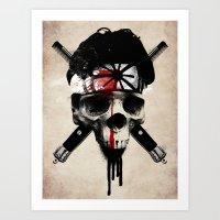 Death To LaRusso Art Print