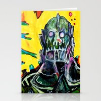 Trap Jaw Stationery Cards