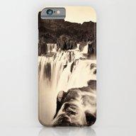 Vintage Waterfall iPhone 6 Slim Case