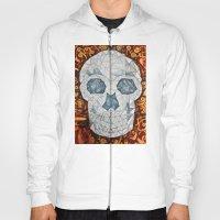 Galvanized Skull Hoody