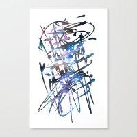 Acuatik Canvas Print