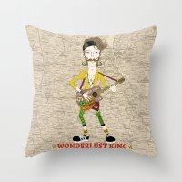 Gogol Bordello Eugene Hütz Gypsy Punk Throw Pillow