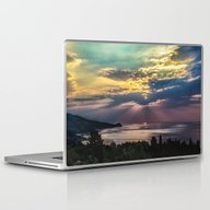 Laptop & iPad Skin featuring Cloudy Sunrise by Svetlana Korneliuk