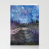 Galactic Stationery Cards