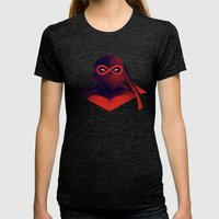 Raphael Forever Womens Fitted Tee Tri-Black SMALL