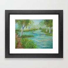 Little Manistee River MM120824a Framed Art Print