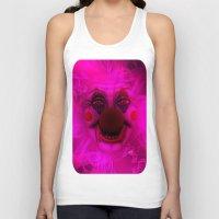 Cotton Candy Clown Unisex Tank Top
