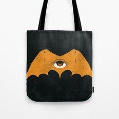 Gold Bat Tote Bag