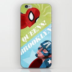 QUEENS! BROOKLYN! iPhone & iPod Skin