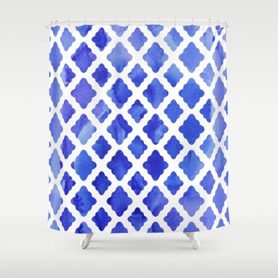 Image Result For Cobalt Blue Shower Curtain Hooks
