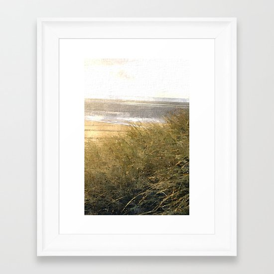 When the tide is out Framed Art Print