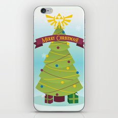 A Triforce Christmas iPhone & iPod Skin
