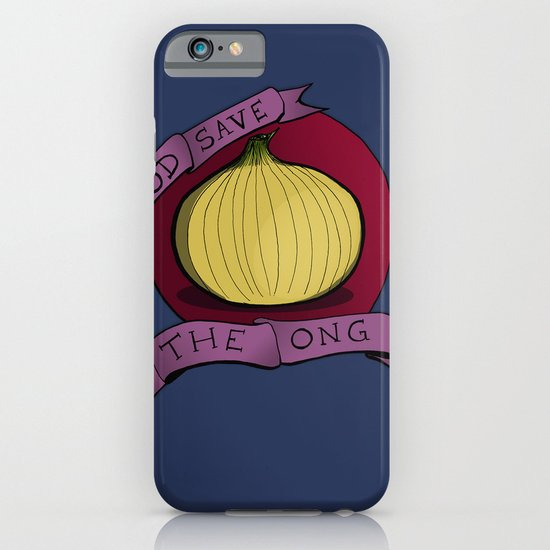 God Save The Ong iPhone & iPod Case