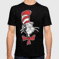 The Grumpy Hat Mens Fitted Tee Black SMALL